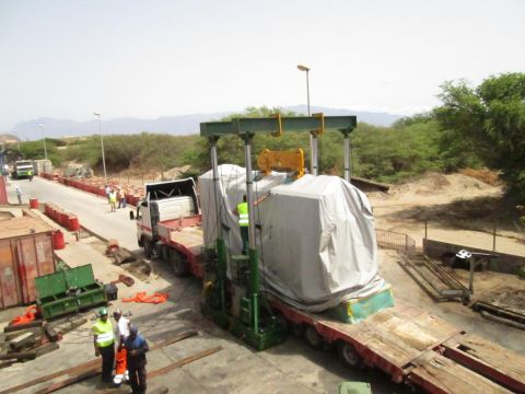Replacement engine for a power plant on the Cape Verde Islands