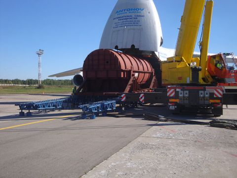 Urgent shipment of generator rotor for Minsk